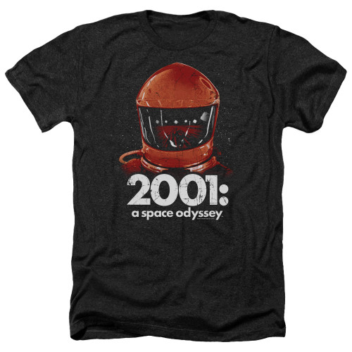 Image for 2001: A Space Odyssey Heather T-Shirt - Space Travel