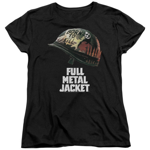 Image for Full Metal Jacket Womans T-Shirt - Poster