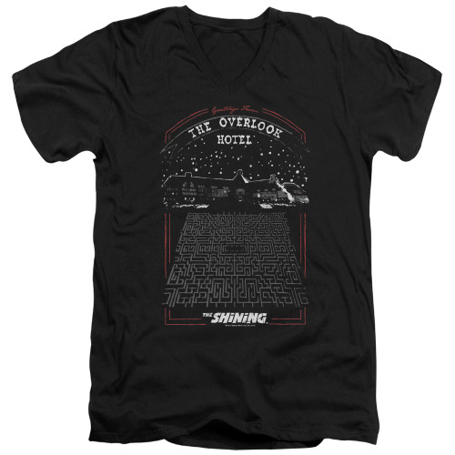 Image for The Shining V Neck T-Shirt - Overlook