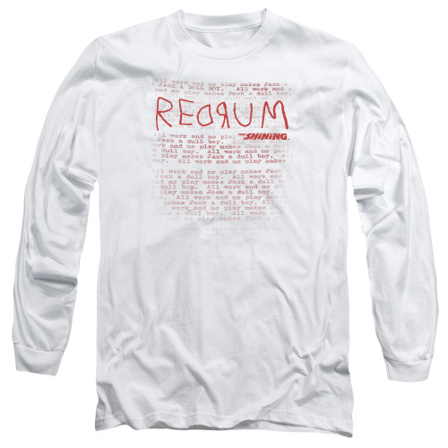 Image for The Shining Long Sleeve Shirt - Redrum