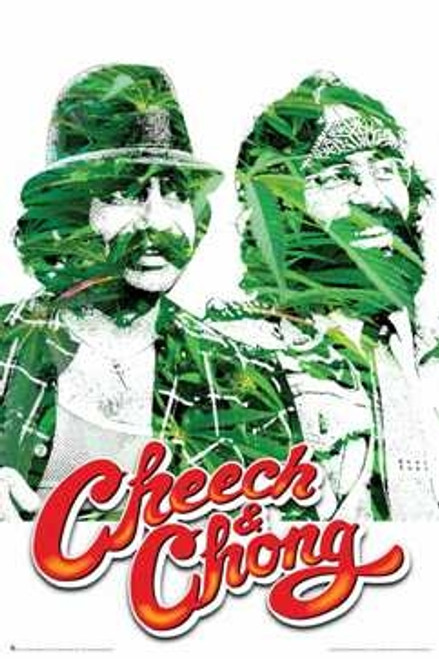 Image for Cheech and Chong Poster - Leaves