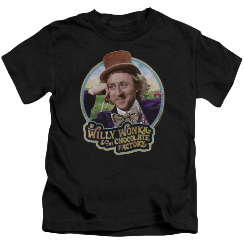 Image for Willy Wonka and the Chocolate Factory It's Scrumdiddlyumptious Kid's T-Shirt