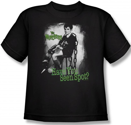 Image for The Munsters Have You Seen Spot? Youth T-Shirt