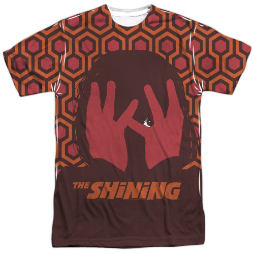 Front image for The Shining Sublimated T-Shirt - Hallway - 100% Polyester
