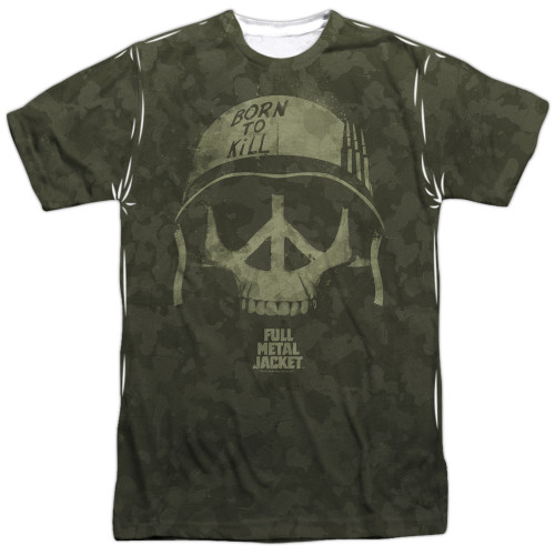 Front image for Full Metal Jacket Sublimated T-Shirt - War for Peace - 100% polyester