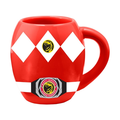 Closeup image 1 for Power Rangers Red Rangers Coffee Mug