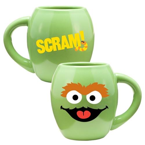 Full image for Sesame Street Oscar Scram Coffee Mug