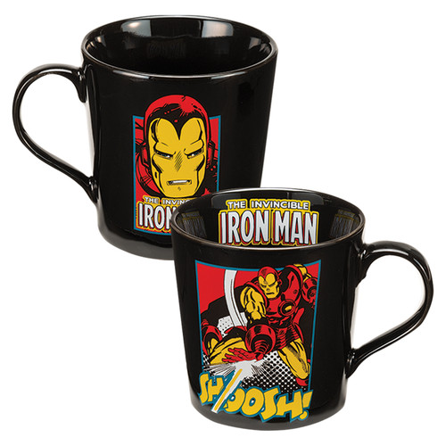 Full image for Iron Man Shoosh Coffee Mug