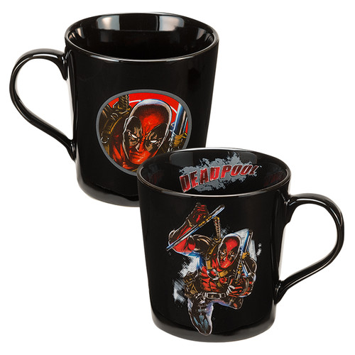 Full image for Deadpool Leap Coffee Mug