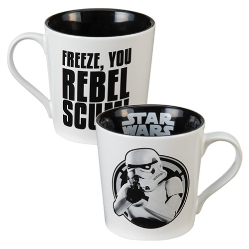 Full image for Star Wars Freeze You Rebel Scum Coffee Mug