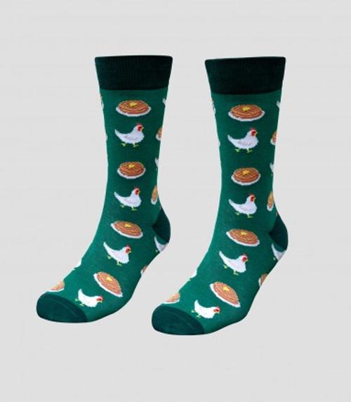 Image for Chicken & Waffles Socks