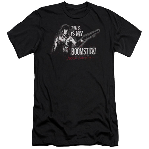 Image for Army of Darkness Premium Canvas Premium Shirt - Boomstick