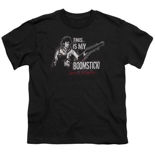 Image for Army of Darkness Youth T-Shirt - Boomstick
