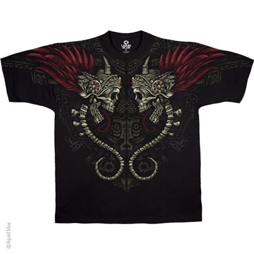 Image Closeup for Magic Mirror Skulls T-Shirt