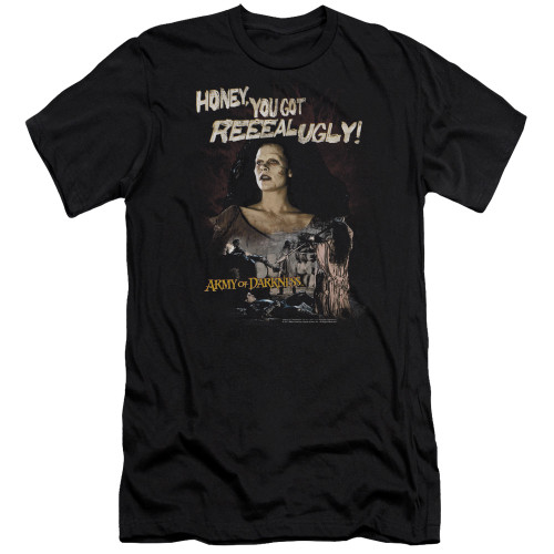 Image for Army of Darkness Premium Canvas Premium Shirt - Reeeal Ugly!