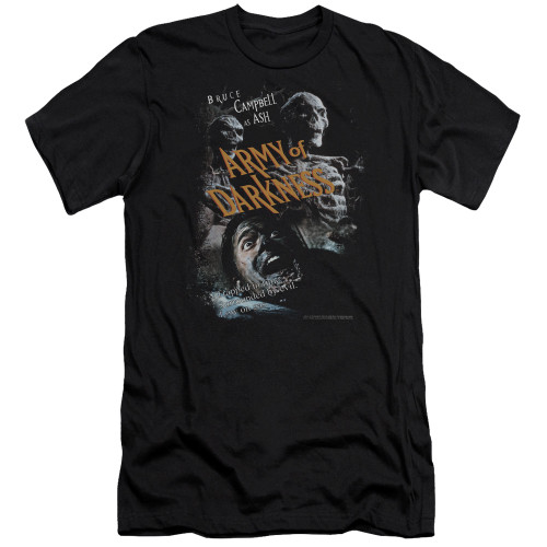 Image for Army of Darkness Premium Canvas Premium Shirt - Covered