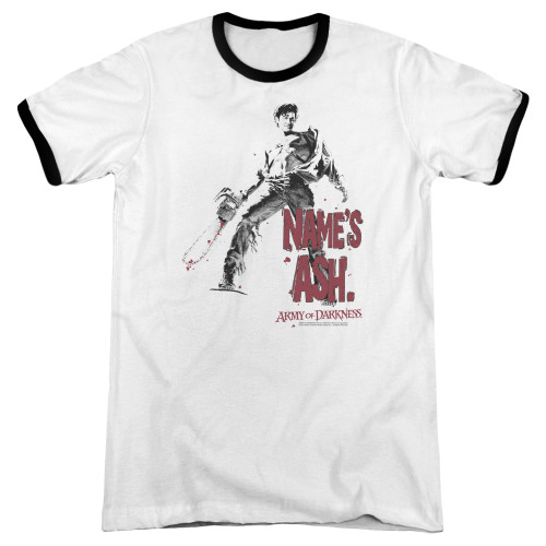 Image for Army of Darkness Ringer - Names Ash