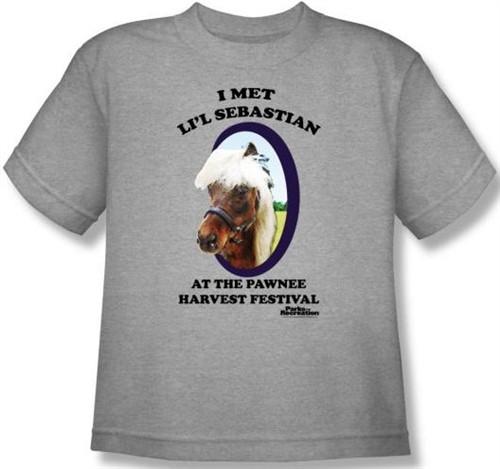 Image for Parks & Rec I Met Li'l Sebastian Youth T-Shirt