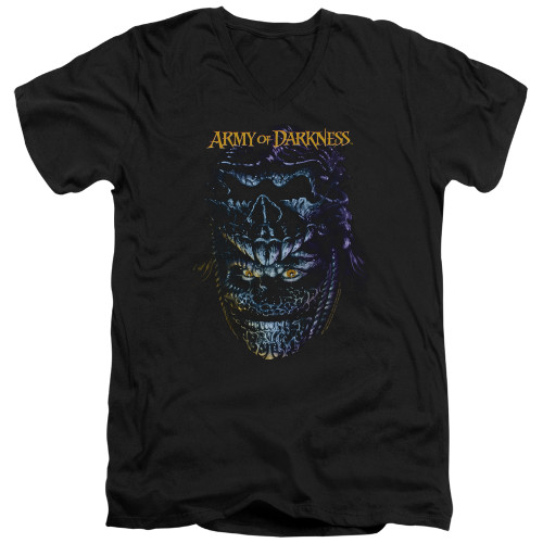 Image for Army of Darkness V Neck T-Shirt - Evil Ash