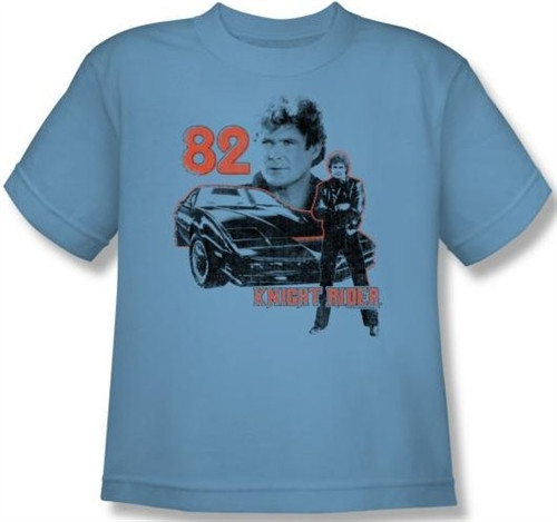 Image for Knight Rider 1982 Youth T-Shirt