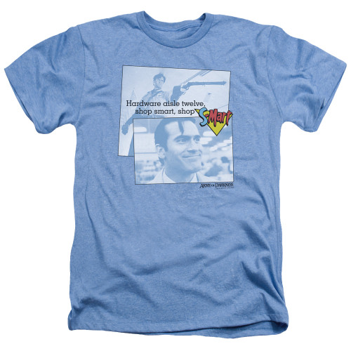 Image for Army of Darkness Heather T-Shirt - Shop S Mart