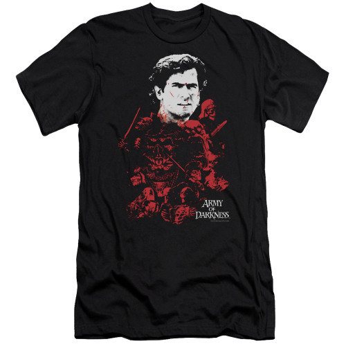 Image for Army of Darkness Premium Canvas Premium Shirt - Pile of Baddies