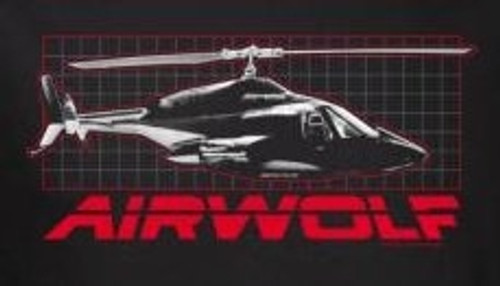 Image for Airwolf Grid T-Shirt