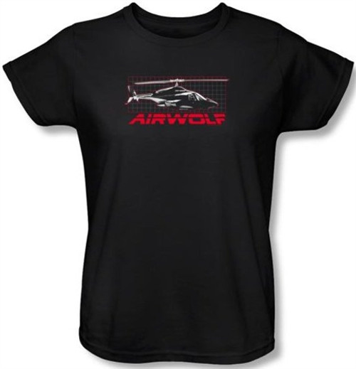 Image for Airwolf Grid Woman's T-Shirt