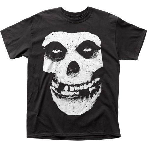 Image for The Misfits Skull & Logo T-Shirt