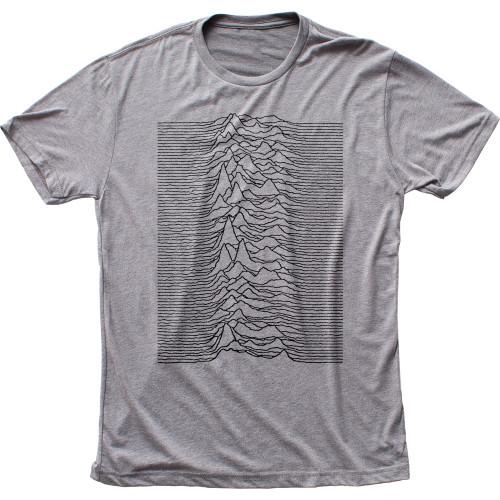 Image for Joy Division Unknown Pleasures Tri Blend T-Shirt