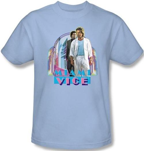 Image Closeup for Miami Vice Miami Heat T-Shirt
