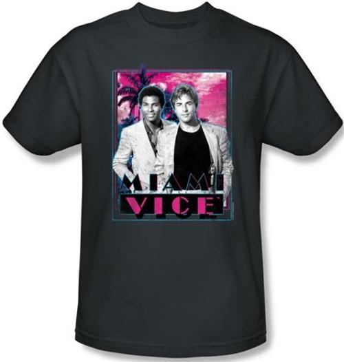Image Closeup for Miami Vice Gotchya T-Shirt