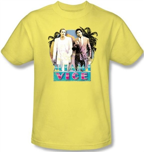 Image for Miami Vice 80's Love T-Shirt