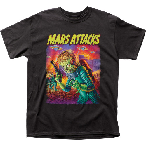 Image for Mars Attacks T-Shirt - UFO's Attack