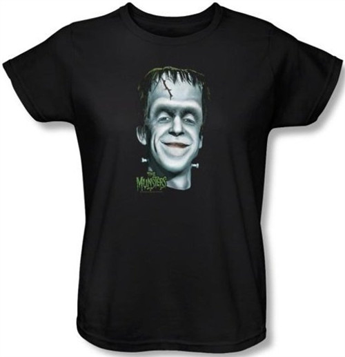 Image for The Munsters Herman's Head Woman's T-Shirt