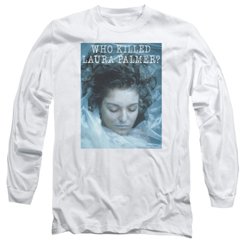 Image for Twin Peaks Long Sleeve Shirt - Who Killed Laura Palmer