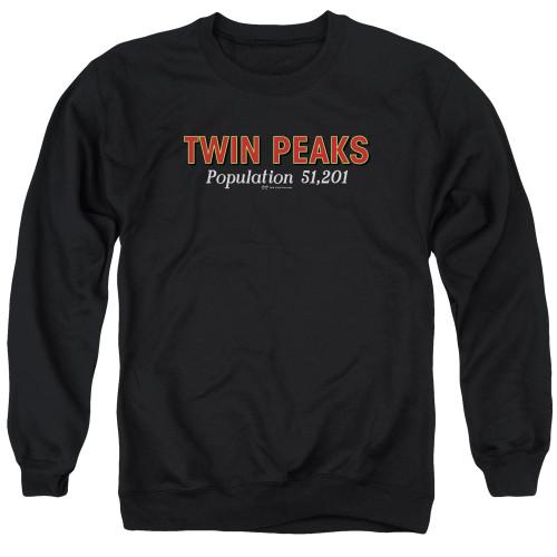 Image for Twin Peaks Crewneck - Population 51,201