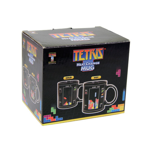 Image for Tetris Heat Transforming Coffee Mug Gift Box