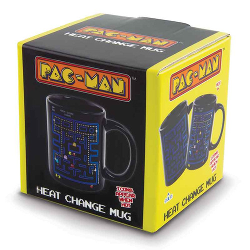 Image for Pac-Man Heat Transforming Coffee Mug Gift Box