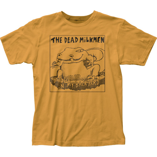 Image for The Dead Milkmen Big Lizard in My Backyard T-Shirt