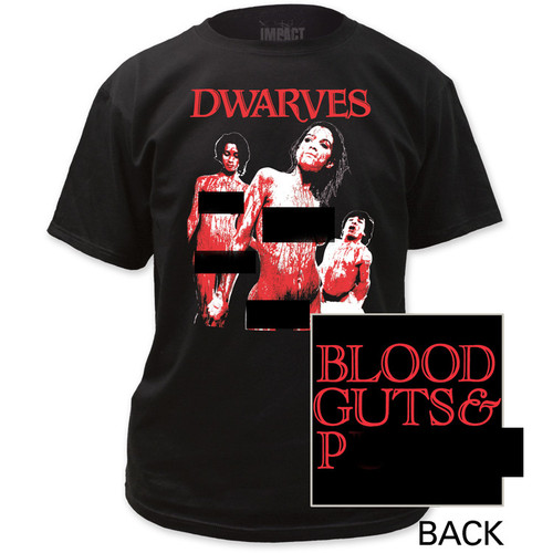 Full Image for The Dwarves Blood, Guts and... T-Shirt