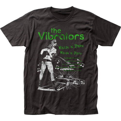 Image for The Vibrators Whips n' Furs T-Shirt