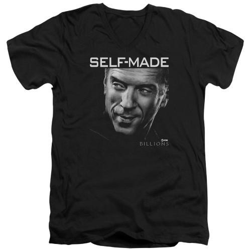 Image for Billions V Neck T-Shirt - Self Made