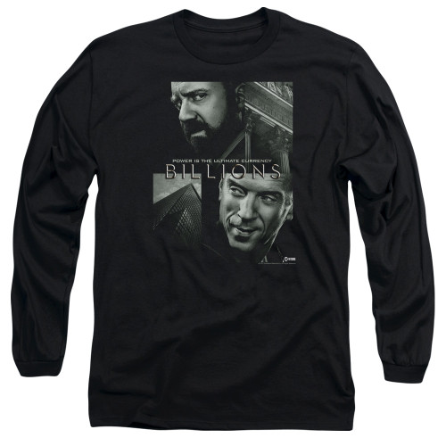 Image for Billions Long Sleeve Shirt - Currency Poster