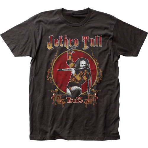 Image for Jethro Tull Tour '75 T-Shirt