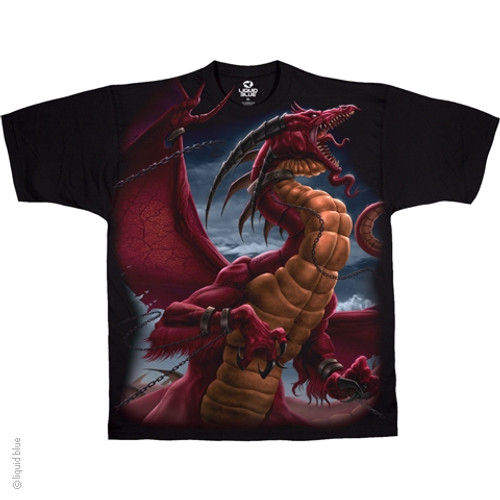 Image Closeup for Dragon Unleashed T-Shirt