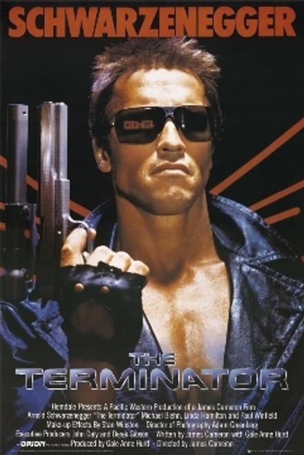 Image for The Terminator Poster - Schwarzenegger Movie