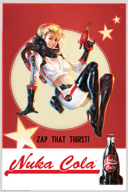Image for Fallout Nuka Cola Poster