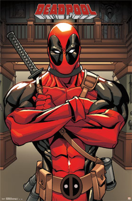 Image for Deadpool Poster - Arms Crossed