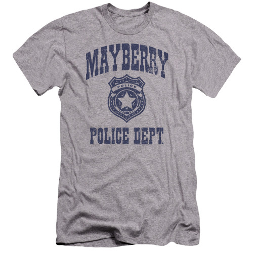 Image for Andy Griffith Show Premium Canvas Premium Shirt - Mayberry Police